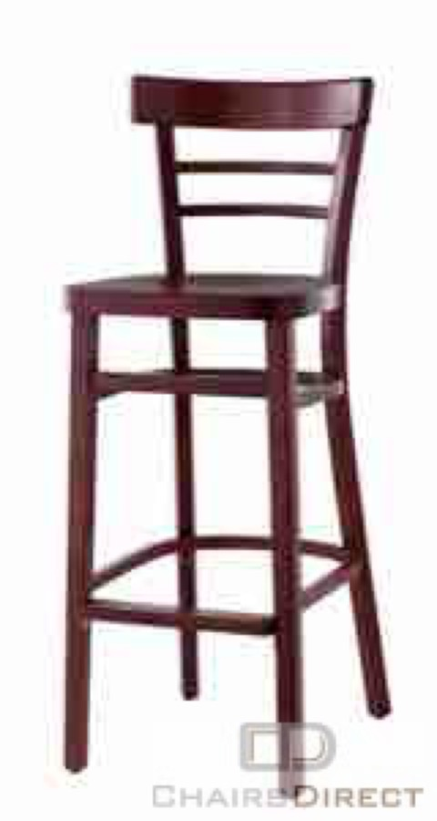 Wood Ladder Back Bar Stool Barstools Chairs Direct Seating