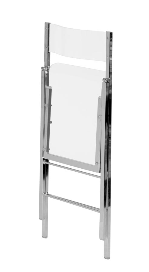 Lucite Folding Chair Folding chairs Chairs Direct Seating