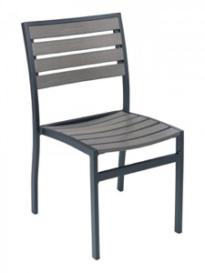 Largo Outdoor Aluminum Side Chair