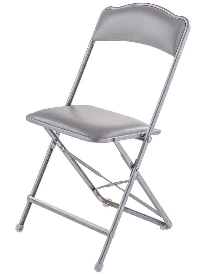 fritz folding chairs price. fritz style folding chair -silver frame. zoom chairs price direct seating
