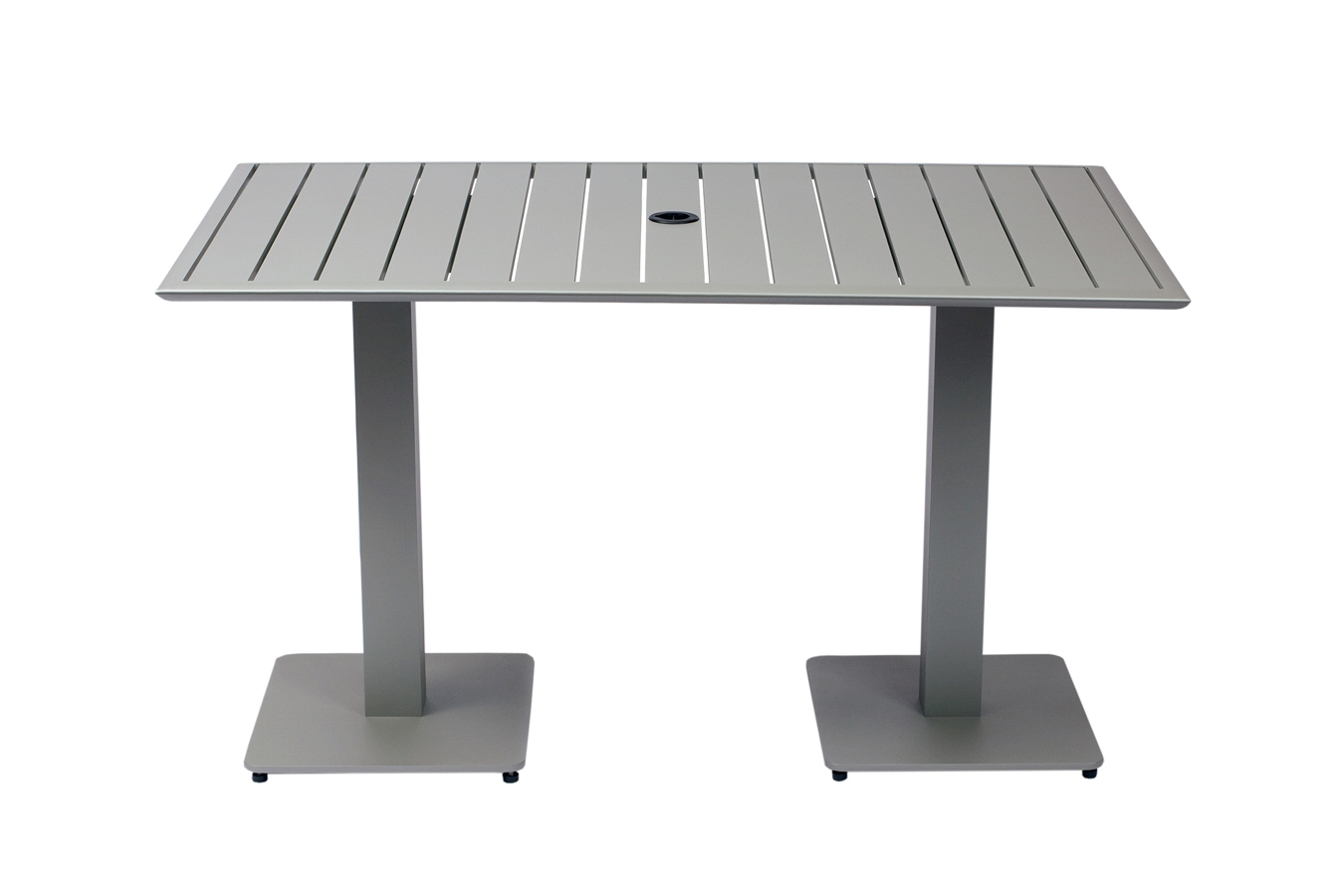 Square restaurant tables - South Beach All Aluminum Outdoor Restaurant Table 32