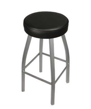 Blaze Upholstered Backless Barstool
