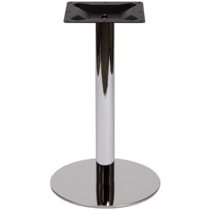 Blair Chrome Round Table Base-Table Height