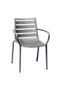 South Beach Aluminum Armchair