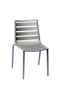 South Beach  Aluminum Side Chair