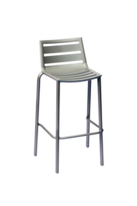South Beach Aluminum Outdoor Barstool