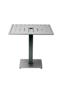 South Beach Aluminum Bar Table