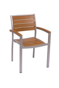 Largo Outdoor Aluminum Arm Chair