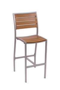 Largo Outdoor Aluminum Barstool