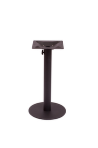 Margate Round Table Base-Black or Silver