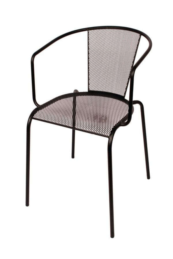 Verona Outdoor Restaurant Arm Chair Stackable Chairs Chairs Direct Seating
