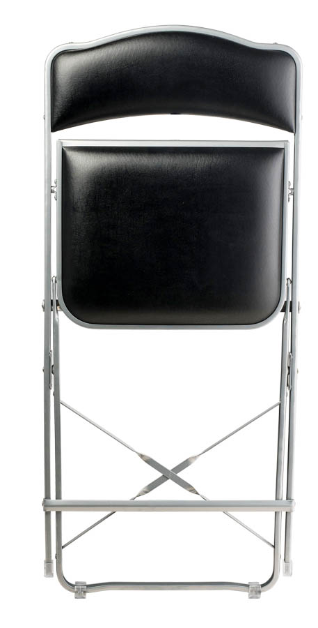 Fritz Style Folding Folding Chair With Silver Frame, Folding Chairs : Chairs  Direct Seating