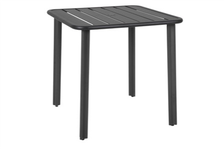 "Vista 32"" Square Aluminum Table"