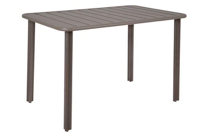 Vista Rectangular Aluminum Table
