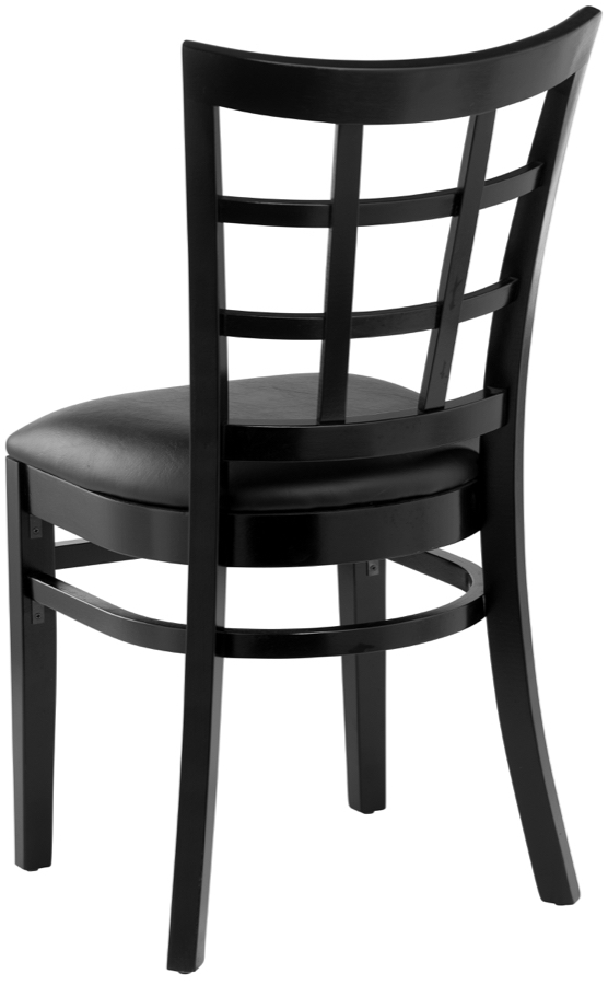 wood lattice back upholstered restaurant chair chairs chairs direct