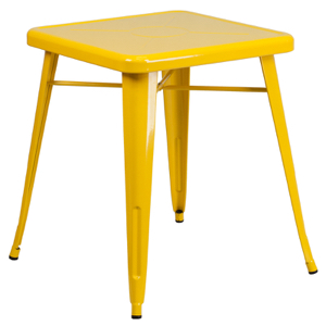 "24"" Square Top Tolix Cafe Table"