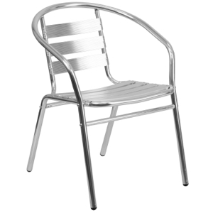 Budget Collection Outdoor Restaurant Arm Chair