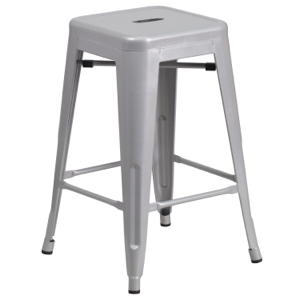 Tolix Backless Counter Stool