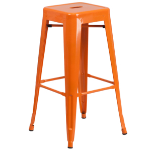 Tolix Backless Barstool