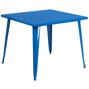 Square Tolix Cafe Table-35.5""