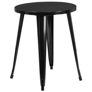 "24"" Round Tolix Cafe Table"