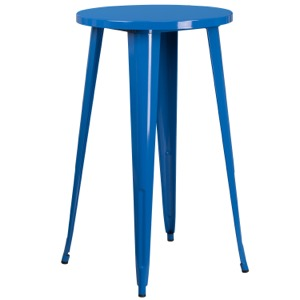 "24"" Round Tolix Cafe Bar Table"