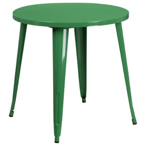 "30"" Round Tolix Cafe Table"