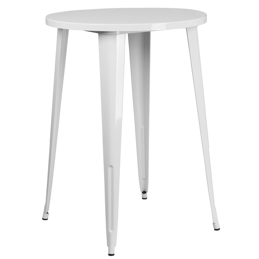 30 Quot Round Tolix Bar Table Colored Tolix Collection