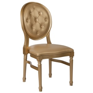 Alberto Side Chair with Tufted Back