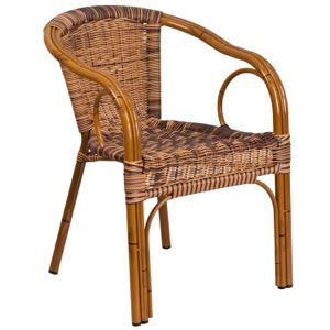 Lyon Rattan Arm Chair