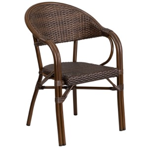 Bordeaux Rattan Arm Chair