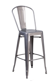 Grayson Clear Coated Metal Barstool