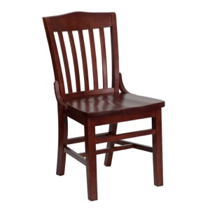 Schoolhouse Back Wooden Chair