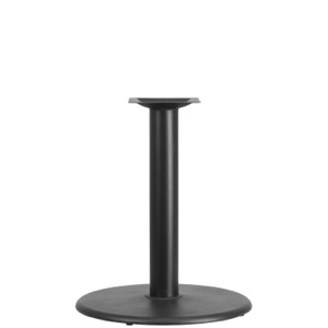 "24"" Round Restaurant Table Base with 4'' Diameter Column-Table Height"