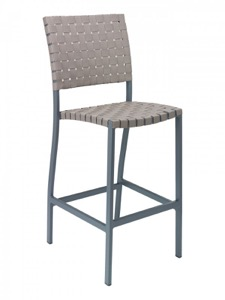 Zander Aluminum Outdoor Bar Stool