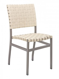 Zander Aluminum Outdoor Side Chair