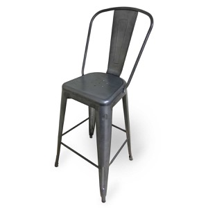 Galvanized Steel Barstool