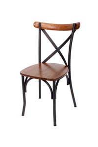 Henry Steel Crossback Chair