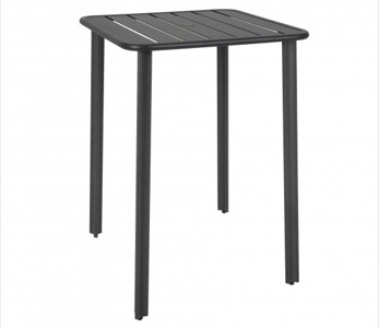 "Vista 32"" Square Aluminum Bar Height Table"
