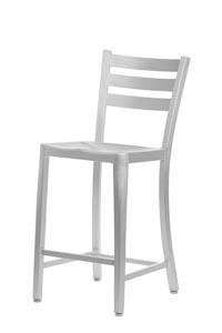 Diana Aluminum Bar Stool Lorenzo Collection Chairs Direct Seating