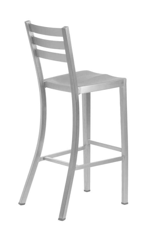 Diana Aluminum Bar Stool Lorenzo Collection Chairs