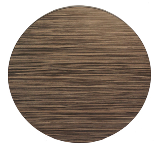 Midtown Collection Stylish Laminate Restaurant Table Top-Round