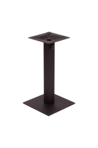 Margate Square Table Base-Black or Silver