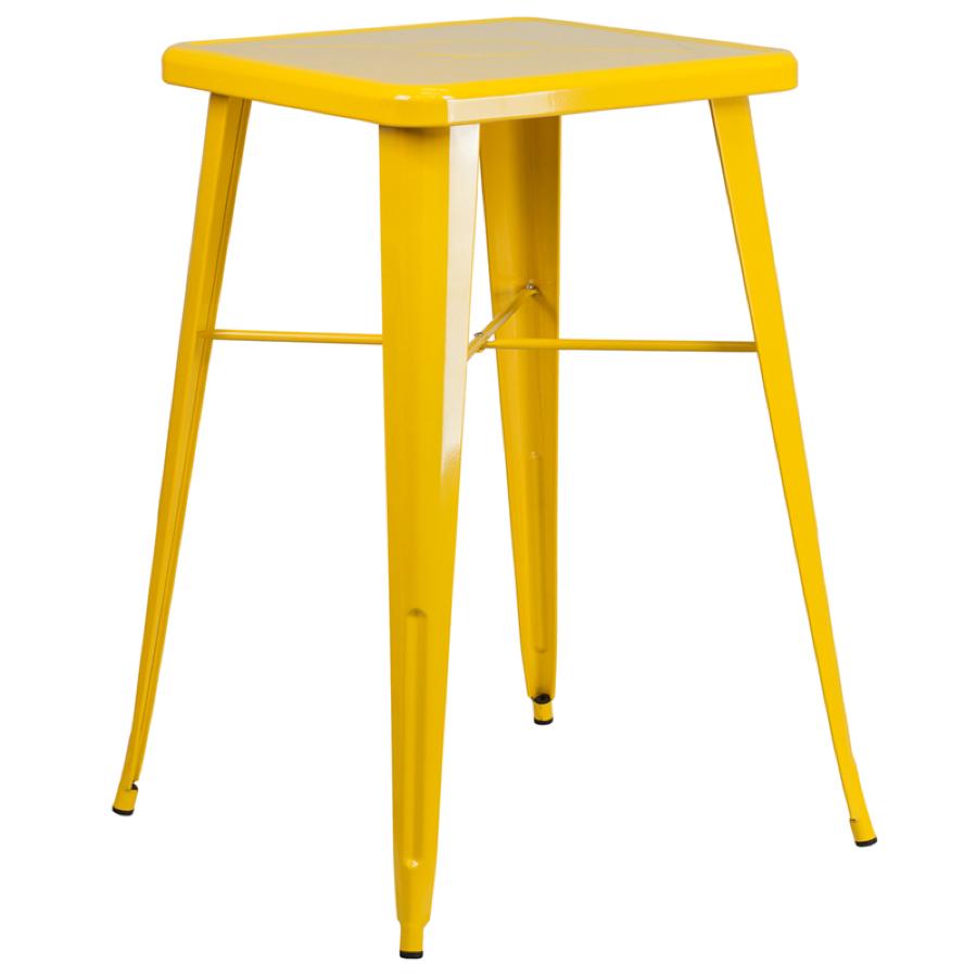 Yellow tabouret chairs - Yellow Tabouret Chairs