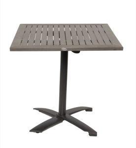 Square Outdoor Bay Table- 24x24