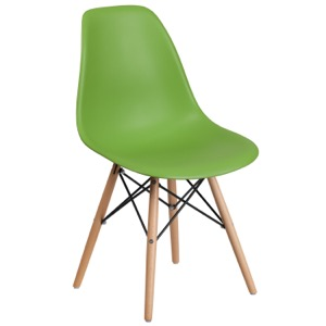 Bailey Side Chair with Wood Base