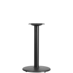 "18"" Round Restaurant Table Base with 3'' Diameter Column-Table Height"