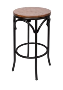 Henry Steel Backless Barstool