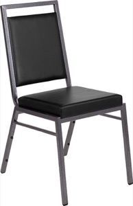 Square Back Vinyl Stacking Banquet Chair
