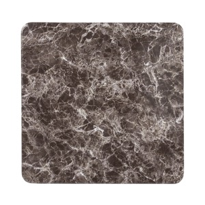 Square Grey Marble Laminate Table Top